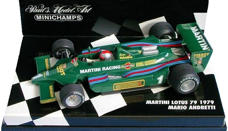 Minichamps 790099 780055 790101 790102 800011 800012 Lotus 79 81 F1 1:43 rd