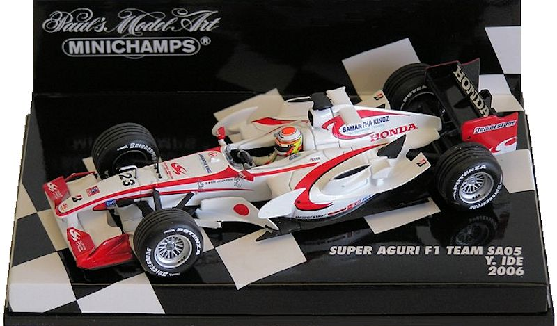 Minichamps Aguri F1 Collection Super 143 Y6mgy7fIbv